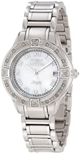 Invicta Women's 12804 Angel Mother-Of-Pearl Dial Diamond Accented Watch