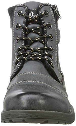 Uomo Nero Stivali Classici s Black 16209 Oliver qwI7wB1H