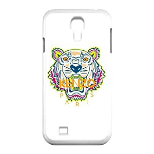 Kenzo Tigre V4X07J4HS funda Samsung Galaxy S4 9500 funda caso CMVP51 blanco