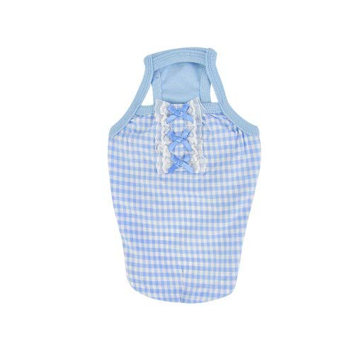 bluee S bluee S Pinkaholic Ella Dog Tank Top (S) (bluee)