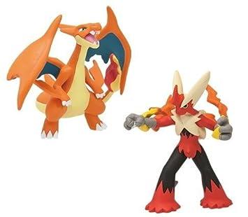 Pokemon Xy Mega Shinka Evolution Vs Figure Mega Lizardon Y