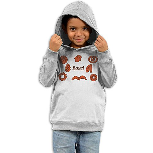 Unyiqun Bagel and Bread Toddler Hoodies - Soft and Cozy Hooded Sweatshirts 5-6 Toddler - Ideas Dress Up Baby Spice
