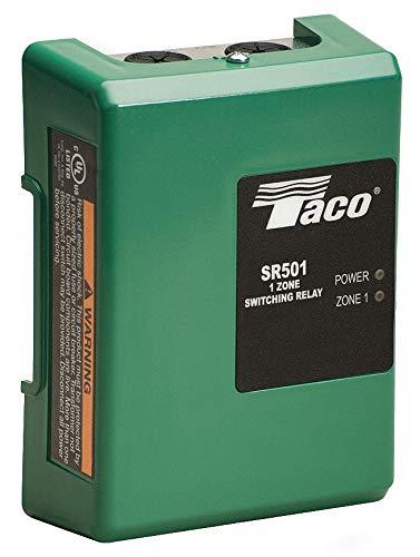 Taco Pump Relay - Taco SR501-4, 1 Zone, Switching Relay, Single Zone