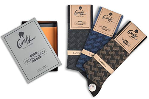 97e99e16f6c6b Galleon - Buy 2 Save 20% Bamboo Men's Dress & Trouser Socks 2 And 3 Pack In  Gift Box Ultra Soft Like Wearing Cloud