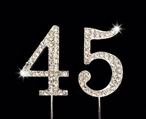 45 number cake topper - 5