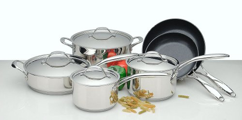 Bodeux France 10 Piece Cookware Set