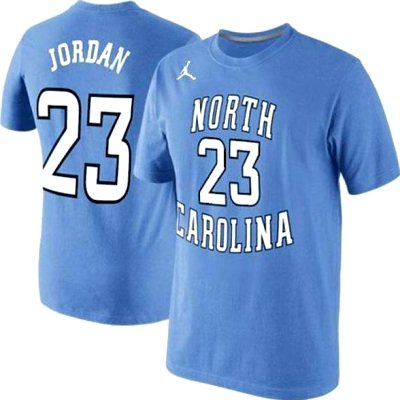 a88ce5a48e7 Nike North Carolina Tar Heels Michael Jordan #23 Toddler T-Shirt - Blue (