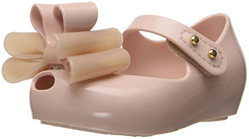 Mini Melissa Girls' Mini Ultragirl Sweet III Mary Jane, Light Pink, 8 M US Toddler