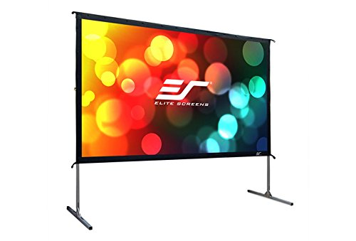 Elite Screens Yard Master 2, 120-INCH  16:9, 4K / 8K Ultra HD, Active 3D, HDR Ready Portable Foldaway Movie Home Theater Projector Screen, REAR Projection - OMS120HR2