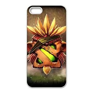 Defense Of The Ancients Dota 2 BRISTLEBACK iPhone 5 5s Cell Phone Case White ASD3784971