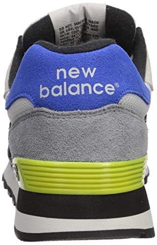 New Balance Men's 515 V1 Sneaker, Nimbus Cloud/Sulphur Yellow, 17 XW US