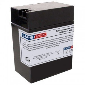 Sigmas SP6-14 6V 14Ah RT Replacement Battery