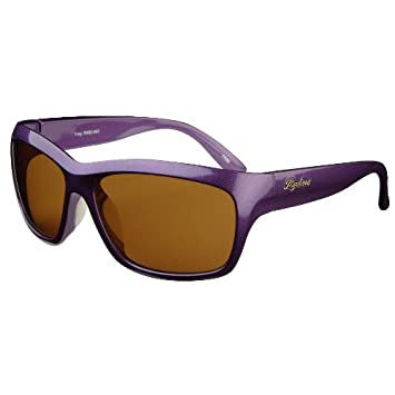 164ea41e4c5 Image Unavailable. Image not available for. Color  Ryders Eyewear Fray  Polarized Purple Frame   Brown Lens ...