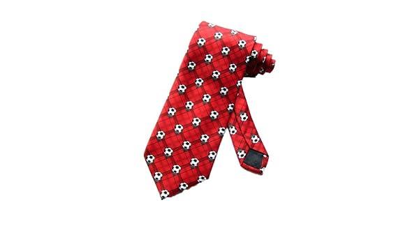 Parquet Hombres Fútbol pelotas corbata – Rojo – Talla única ...