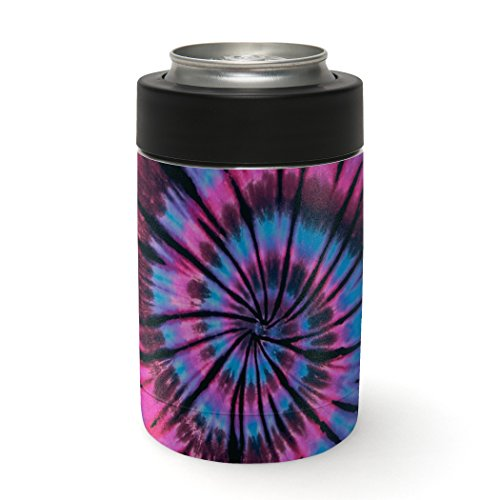 (Aretty - Purple Blue Cotton Candy Swirl Tie Die Vinyl Skin Decal Wrap for the Yeti Rambler Colster (Colster Not Included))