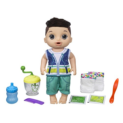- Baby Alive Sweet Spoonfuls Baby Doll Boy (Brunette)