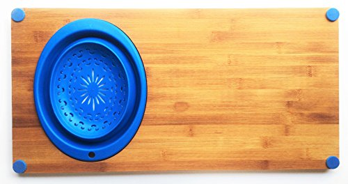 Cutting Board with Colander | BLUE | 24