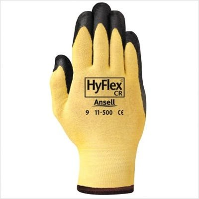 Ansell Hyflex Cr Glove - Ansell Edmont Industrial Nitrile Palmcoat Xs Pr Hyflex Cr Cut Resist Glv