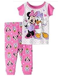 Disney Assortment of Baby Girls Pajamas 2 pc 100% Cotton