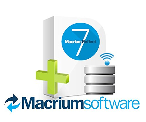 Hard Drive Backup Software - Macrium Reflect 7 | B-7SRVS-IP000-00 | v7 - Server Edition (1-9 servers) - Digital Software