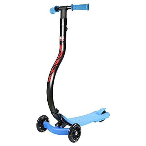 Amazon.com: NOBLEKID Patinete plegable para niños, con 3 ...