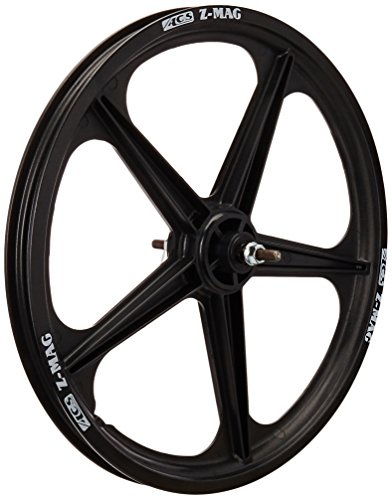 ACS Mag 5-Spoke Front Wheel, Black ()
