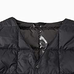 V-neck Button Down Vest 118-88-0006: Black
