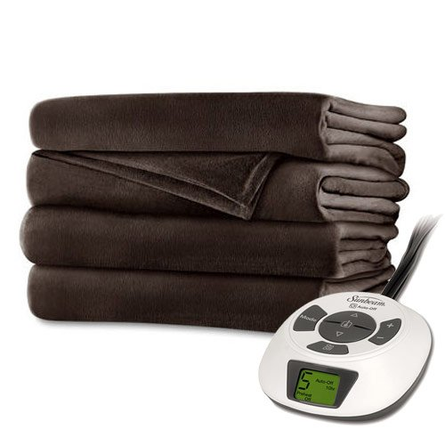 Sunbeam RoyalMink Electric Blanket Chocolate product image
