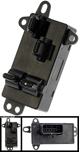 [APDTY 012550 Power Window Switch Fits Front Left 2004-2007 Chrysler Town & Country Dodge Caravan or Dodge Grand Caravan (Replaces Mopar 4685732AC, 04685732AC)] (Town & Country Power Window)