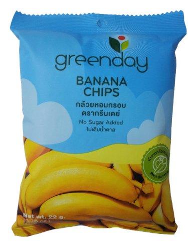 Greenday Real Fruit – Banana Chips 0.78-ounces X 1 Bag