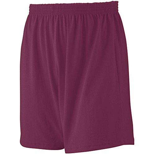 Augusta Sportswear Boys' Jersey Knit Short XS Maroon