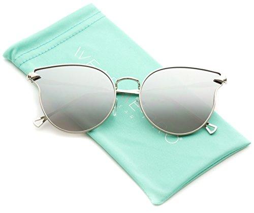 WearMe Pro - Metal Frame Mirrored Lens Designer Inspired - Boots Sunglasses Designer
