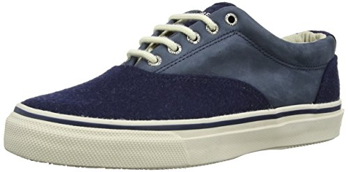 Sperry Top-Sider Mens Striper CVO Wool Shoes Navy 2015 new cheap online huge surprise buy cheap outlet locations clearance with mastercard free shipping very cheap 7uz5Louk1