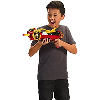 Power Rangers Super Ninja Steel Blaster with 6 Foam Darts and 1 Ninja Star, 1 Pack