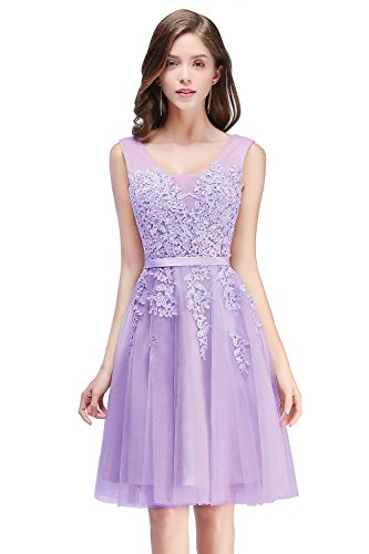 t Prom Homecoming Dress for Semi Formal Lilac Size 2 ()