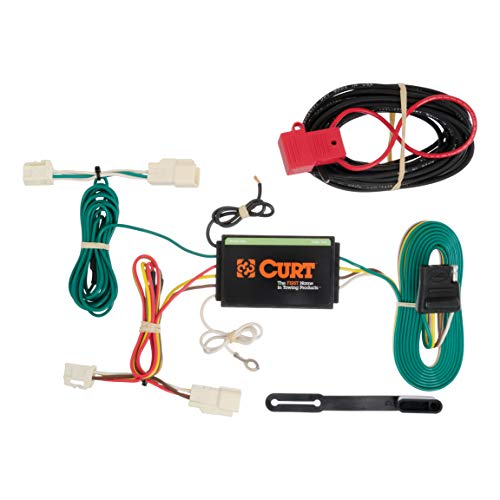 CURT 56189 Vehicle-Side Custom 4-Pin Trailer Wiring Harness for Select Mitsubishi ()