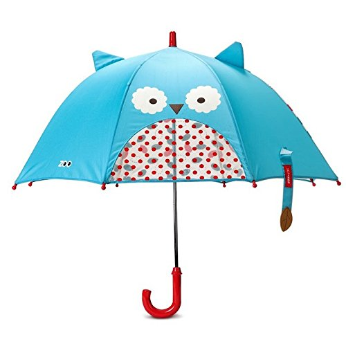Skip Hop Zoo Little Kid and Toddler Umbrella, Multi Otis Owl