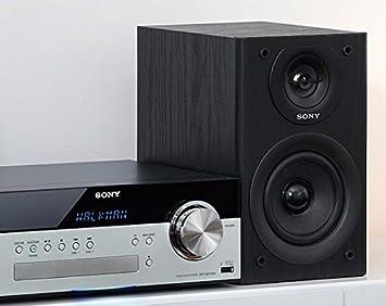 Sony CMT-SBT100 - Microcadena Hi-Fi de 50W (estéreo, CD, Am/FM ...
