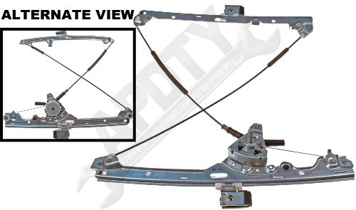 APDTY 851628 Manual Window Regulator (Non-Powered) Fits Front Left (Driver Front) Select 99-07 GM Vehicles; Match Vehicle To Compatibility Chart To Ensure Fitment (Replaces 15077851, 15871124)