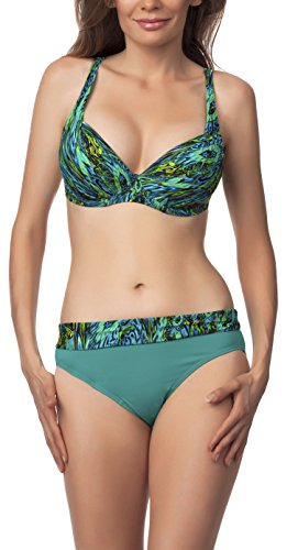Antie Parte Inferior del Bikini Para Mujer Kaledonia Aqua