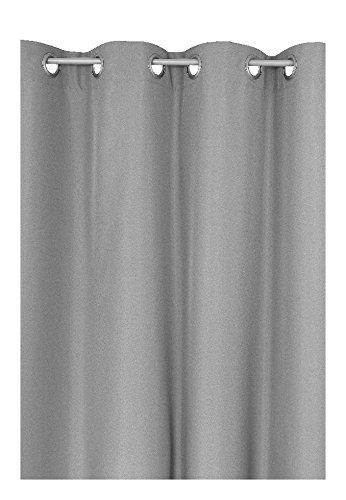 Schlaufen oder Ösenschal - Vorhang-Gardine Maßanfertigung im Unidesign Weiss 120cm x 320cm Schlaufenschal , Farbe und Größe wählbar B01N95Q4GU Gardinenschals