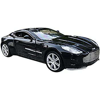Awesome Car Toys 1:32 Black Aston Martin Model Car
