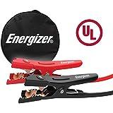 Energizer 4-Gauge 500A Jumper Battery Cables 20 Ft Booster Jump Start ENB-420U