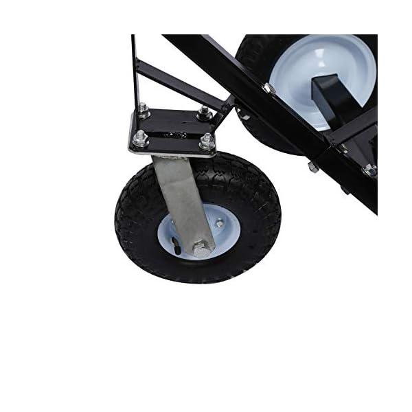 41QuE82Ec4L Rangierhilfe für Anhänger & Wohnwagen, 3 Räder, bis 453,6 kg, höhenverstellbare Kupplungskugel
