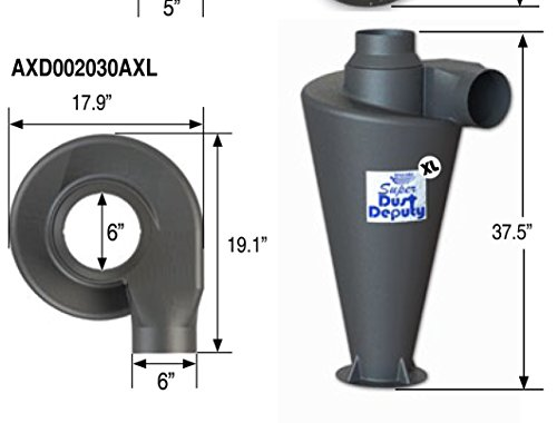 (Oneida Air Systems Super Dust Deputy XL)