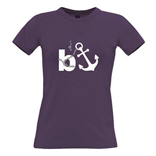 Bonus Banker Anchor Banche Città Funny Money subacquea sleale T-Shirt Da Donna