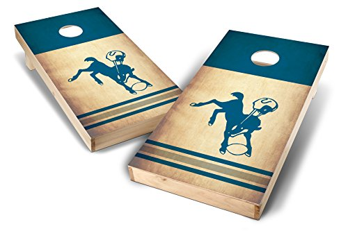 PROLINE NFL 2'x4' Indianapolis Colts Cornhole Set with Bluetooth Speakers - Nostalgia Design