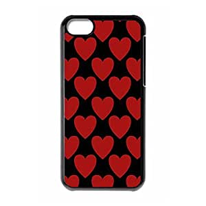 Dark Hearts Fashion Printed Custom Hard need Back Case Cover for iPhone baby 5s and iPhone is 5s ¡ê¡§Black 102221¡ê?
