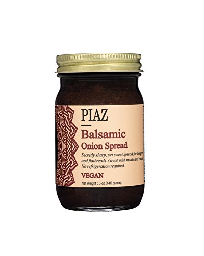 Piaz Balsamic Onion Spread - Vegan 5.12 OZ Good Food Awards 2017 Finalist