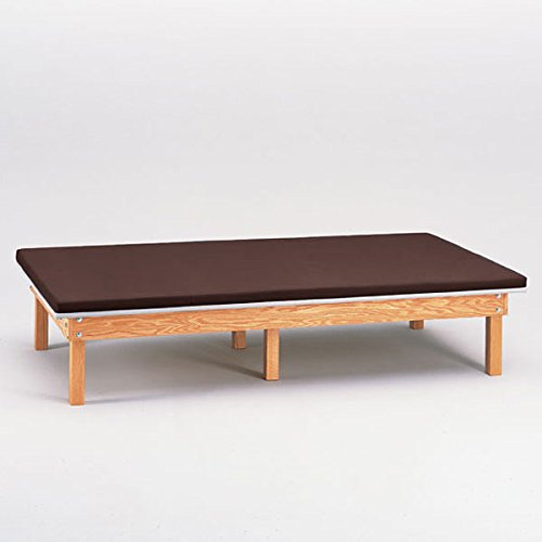 Heavy Duty Upholstered Mat Platform Treatment Table 4 x 7 - Upholstered Mat Platform